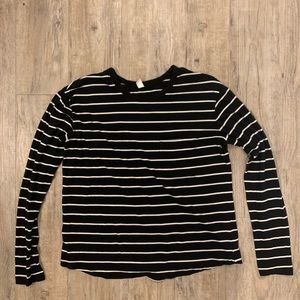 BP long sleeve stripped tee size M